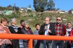 Inauguración Espacio Arquitecto Luis Vaia en la zona de la Fortaleza del Cerro