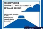 Proyecto Nodos Urbanos calle Grecia