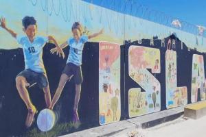 Se inauguró un nuevo espacio recreativo y multideportivo en el barrio La Isla de La Teja.