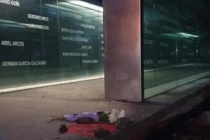 """""""Memorias desde el Memorial"""" en el Parque Vaz Ferreira."""
