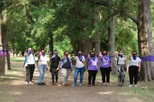 Campaña - Correcaminata virtual contra la violencia hacia la mujer.
