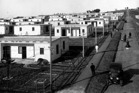 Barrio Casabó año 1921 (Foto 3017 FMH.CMDF.IMM.UY)