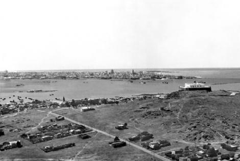 Barrio Cerro año 1945 (Foto 340e FMH.CMDF.IMM.UY)
