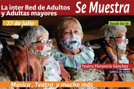 Muestra de la Red de Adultos y Adultas Mayores del Municipio a.-