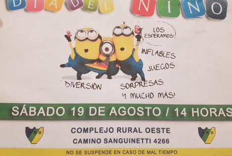 Día del niño en el Complejo Rural Oeste
