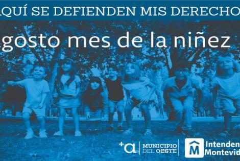 """Actividades del mes de la niñez: """"Aquí se defienden mis derechos"""""""