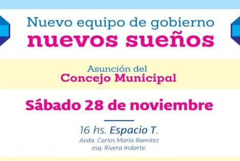 Asunción del Concejo Municipal