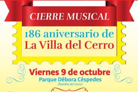 186 Aniversario - Villa del Cerro