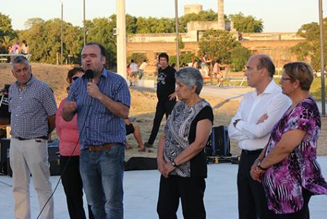 Inauguración de Terrazas de Pueblo Victoria