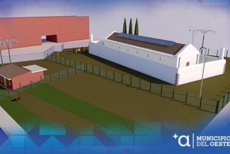El futuro Centro Cultural del Cerro busca logo y nombre.