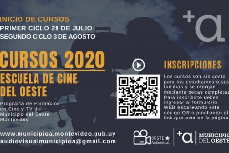 Cursos de Escuela de Cine del Oeste 2020