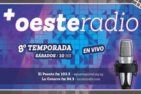 +OesteRadio. Programa radial institucional del Municipio A. Año 8.