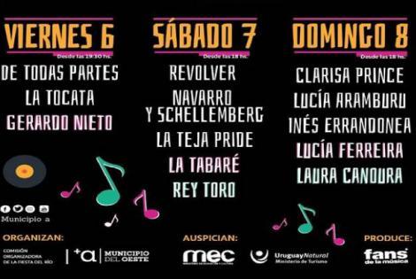 Grilla 30° Fiesta del Río y la Convivencia