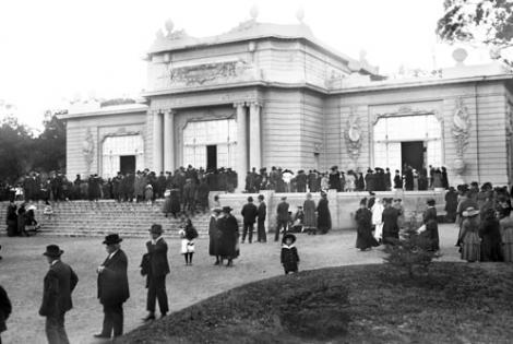 Hotel del Prado. Año 1917. (Foto 1543 FMH.CMDF.IMM.UY)