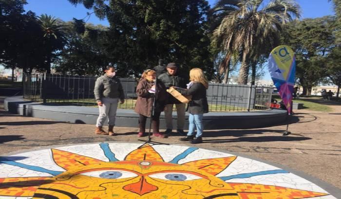 Reinauguración de la Plaza Lafone