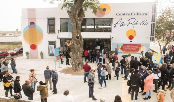 Inauguración del Centro Cultural Alba Roballo