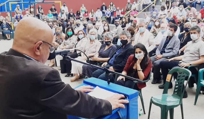 El pasado sábado 28 se realizó en el Espacio t, la asunción del nuevo Concejo Municipal del Municipio A