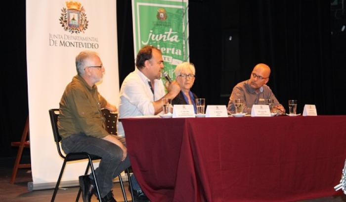 Junta Departamental en el Florencio Sánchez