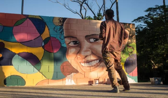 Cambios en Plaza Monterroso. Foto Facebook Colectivo Cultural New Paris