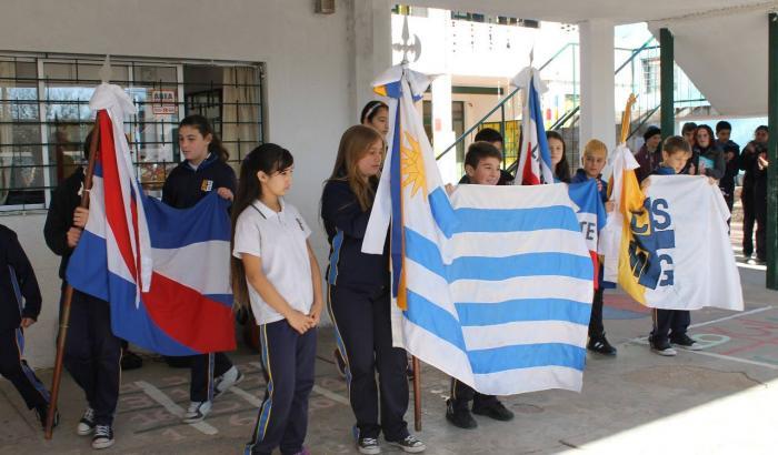 Actividad realizada en Colegio y Liceo La Barra