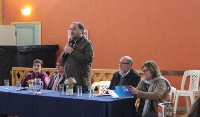 Exposición del alcalde Gabriel Otero