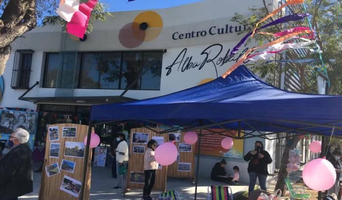 Primer aniversario del Centro Cultural Alba Roballo.