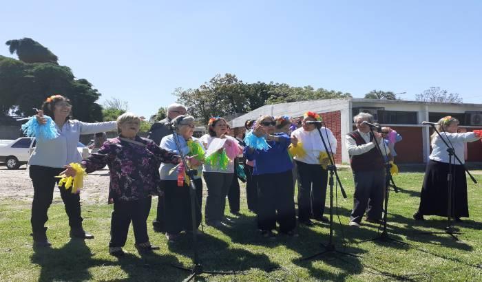 Se inauguró, en Parque Bellán, un salón multiuso -obra de Presupuesto Participativo-