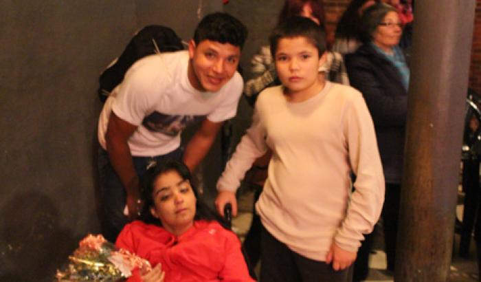 Jonathan, Raquel y Mauricio