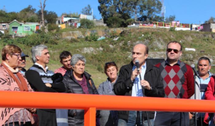 Inauguración Espacio Arquitecto Luis Vaia en la zona de la Fortaleza del Cerro.