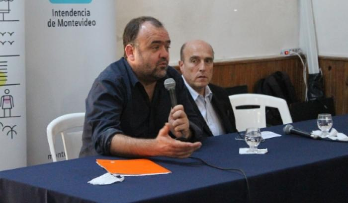 El Intendente Daniel Martínez y el Alcalde Gabriel Otero participaron del evento