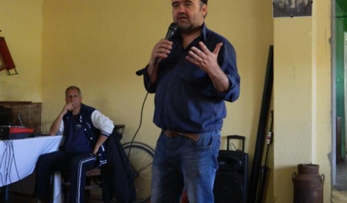 El Alcalde Gabriel Otero hizo uso de la palabra
