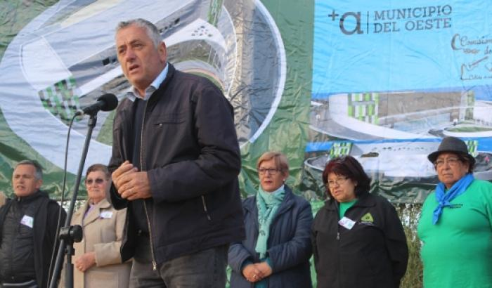 El Alcalde interino Enrique Soria participó del evento