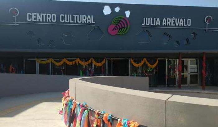 Se realizó la muestra final de talleres del Centro Cultural Juila Arévalo.-