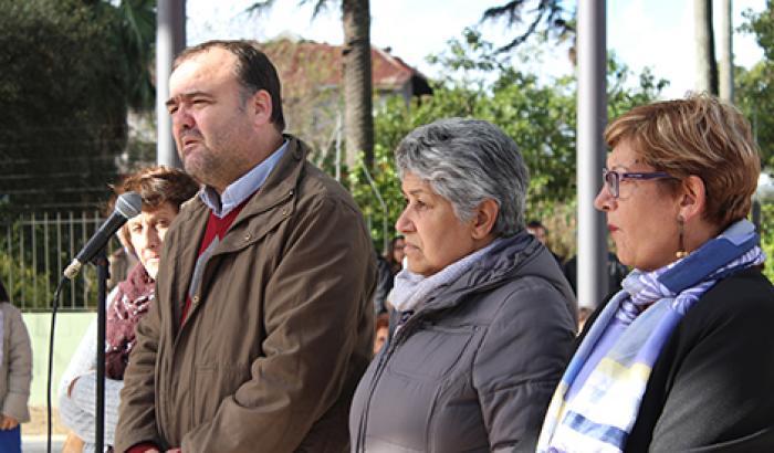 Inauguración de la Plaza de la Equidad.