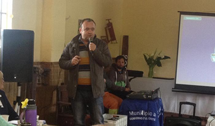 El Alcalde Gabriel Otero cerró el acto protocolar