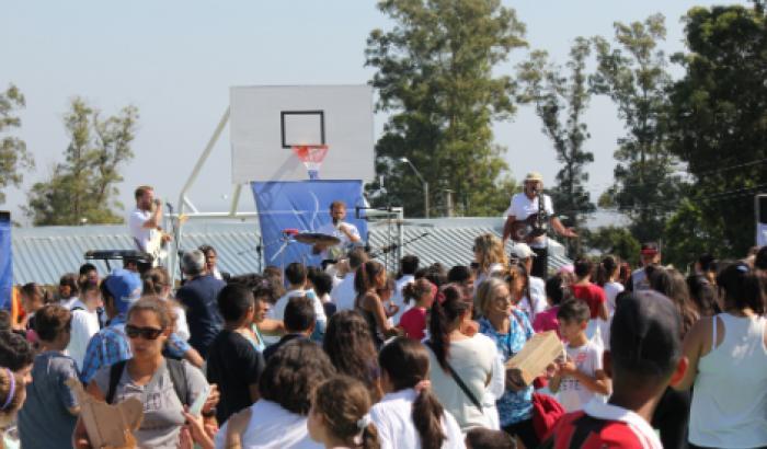 Inauguración del Parque Deportivo y Recreativo 7 Hectáreas Foto: Milena Santos