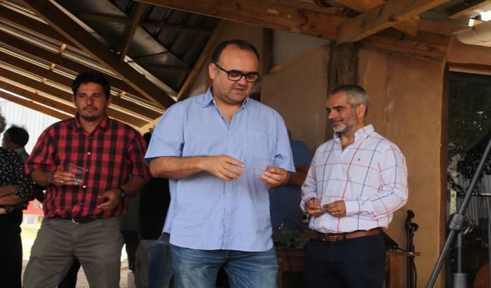 Inauguración de Planta de Clasificación de Residuos Sólidos Valorizables y el Área Agroecológica Comunitaria.