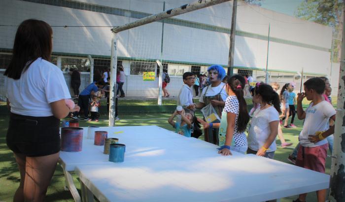 #YoTambiénTengoDerechos en Plaza de Deportes N°7
