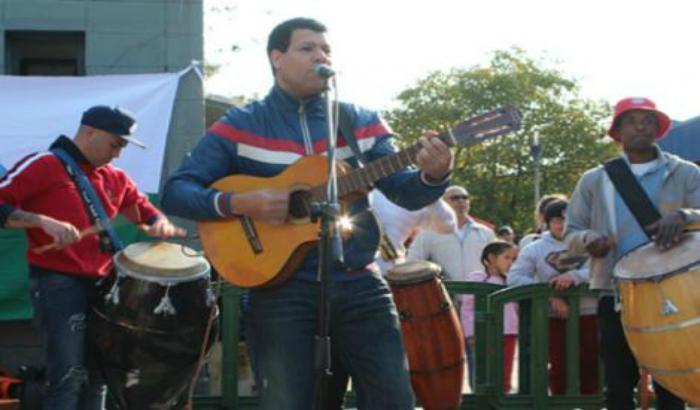 Iguazú Fernández en el lanzamiento de los 184 años de la Villa
