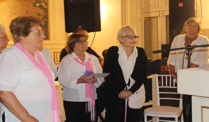 Reconocimiento a mujeres y organizaciones sociales por trabajo en el territorio como promotoras de igualdad de género.