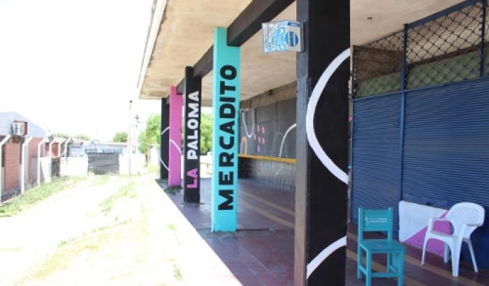 Proyecto La Paloma pinta el barrio