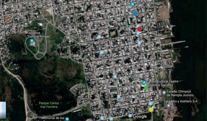 Plano calle Grecia
