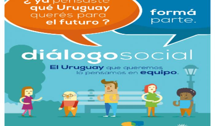 Afiche de Dialogo Social