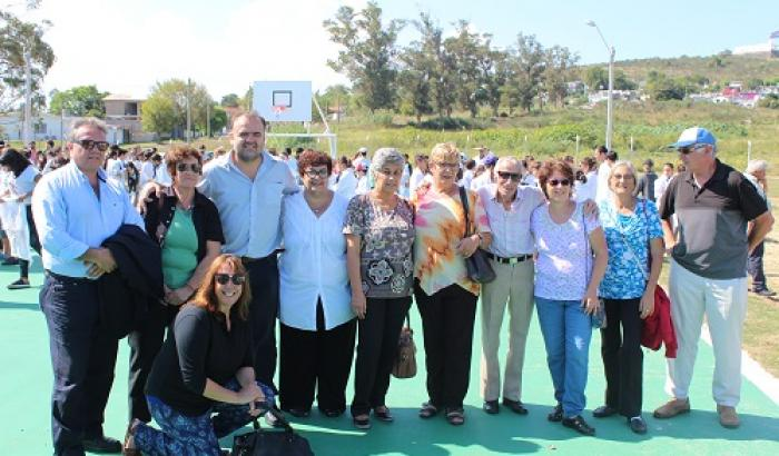 Inauguración del Parque Deportivo y Recreativo 7 Hectáreas