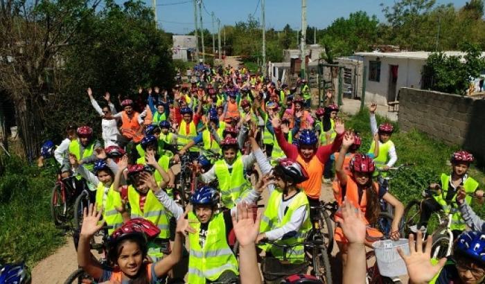 Bicicleteada en Los Bulevares