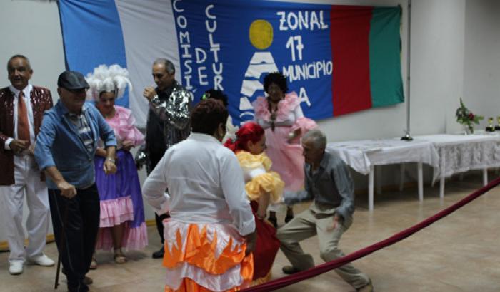 Entrega de premios Carnaval 2016 del CCZ 17. Foto: Luca Pratto