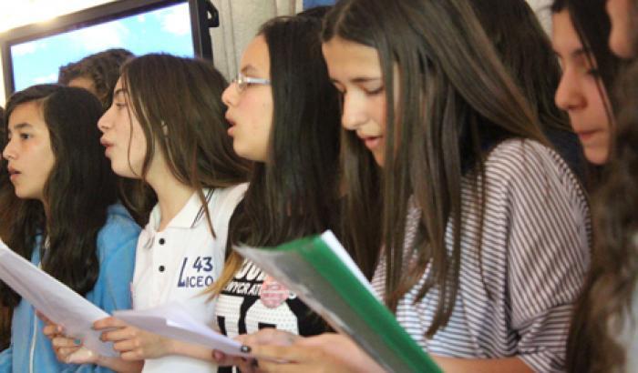Tercera Estudiantina del Oeste. Foto: Milena Santos
