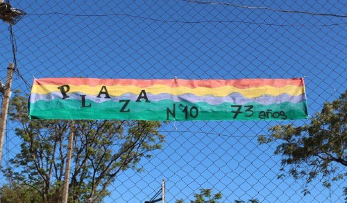 Cumpleaños de la Plaza 10. Foto: Luca Pratto
