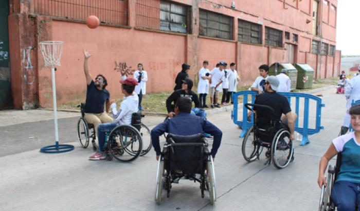 Jornada de inclusión e intercambio