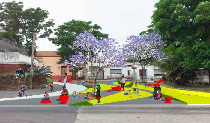 Peatonalización de Jose María Vidal